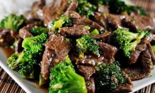 Teriyaki Steak & Broccoli