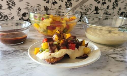 Tropical Fruit Nachos